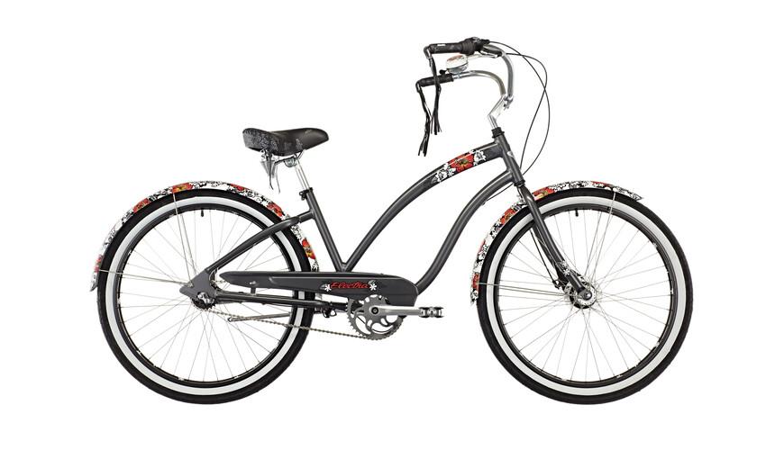 Electra Wild Flower 3i - Vélo de ville Femme - gris